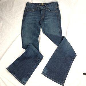 7FAM A pocket flares jeans size 26